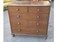 **Old Fashioned Chest of Drawers**