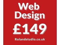 Affordable web design form £149 | eCommerce | SEO | LOGO