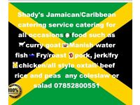 Caribbean catering service