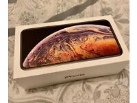 iPhone XS Max 64BG Gold - with original box and charger