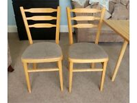 Four Vintage/ Retro Dining or Kitchen Chairs