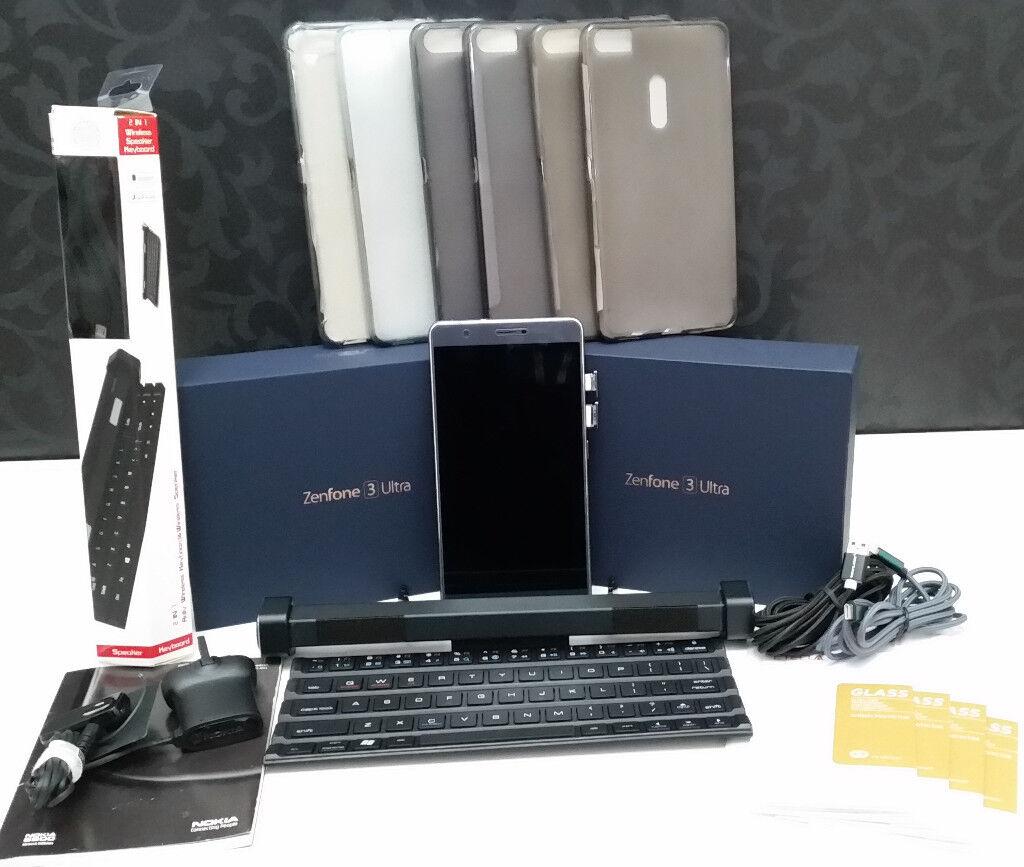"ASUS ZENFONE 3 ULTRA ZU680KL,DUAL SIM 6 8"" FHD,4GB RAM, 64GB ROM MOBILE  PHONE | in Chingford, London | Gumtree"