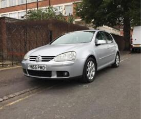 2005 55 Volkswagen Golf GT TDI 5DR 6 Speed Manual + Full Leather + HPI Clear + Full Service History