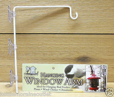 Suction Cup Window Mount Bird Feeder Hanger SE077 Holds 5 Pounds Up Close View