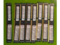 32GB 8x4GB VLP 10600R PC3L blade server and workstation memory low profile 2Rx8