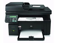 HP CE841A LaserJet Pro M1212NF MFP Laser Printer and Scanner and Fax Machine