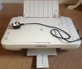 Canon Pixma MG2950 Colour Printer Scanner White Excellent Condition Hardly used
