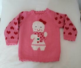 Baby Girls Christmas Jumper
