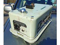 Valve Amplifier With 2 x CV586, 1 x ECC33 & 1 x CV593 - Untested - Sold As Seen