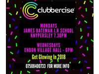 Clubbercise Class in Endon