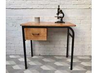 Vintage Retro Desk with Drawer #513