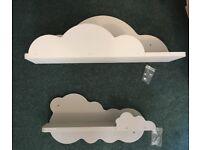 New Handmade Cloud shelves