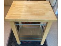 IKEA Butchers Block Trolley