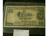 Old Scottish Banknote
