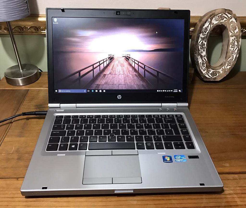 Hp Elitebook 8470p I7 Processor With Windows 10