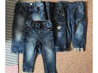 Boys jeans aged 12-18 months
