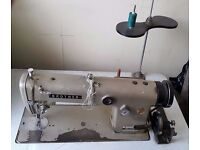 Vintage Sewing Machine - Brother DB2-B755-3 incl. Head, Motor, Legs and Table