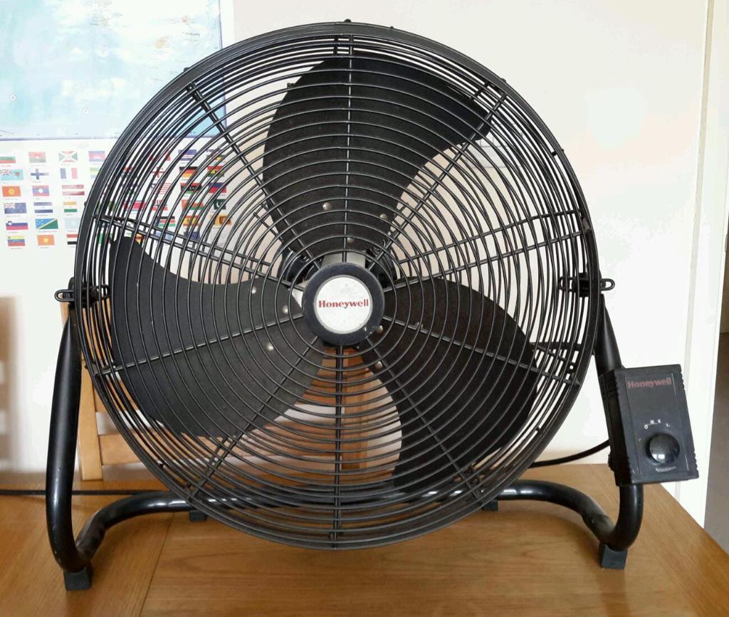Honeywell Floor Fan : Honeywell cm commercial grade high velocity floor fan