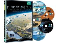 DAVID ATTENBOROUGH PLANET EARTH THE COMPLETE SERIES DVD LIMITED EDITION DVD BOXSET BOXED BRAND NEW