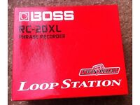 Boss RC-20XL Twin Pedal Loop Station - £100