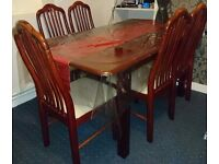 Cheap Extendable Table And 6 Chairs