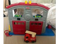 Fisher price fires station