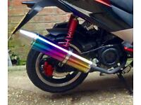 Brand new boxed exhaust for pulse lightspeed 2 125