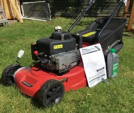 SOLD. SOLD Sovereign petrol self-propelling lawn mover