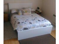 Ikea Bed Frame (including slatted frame) + Ikea Mattress