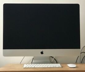 IMAC 27'' - 3.5 i7 - 32 GB RAM - 4GB graphics WITH FLIGHT CASE