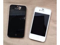 2x iPhone 4 (working)