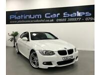 BMW 3 SERIES 320D M SPORT (white) 2010