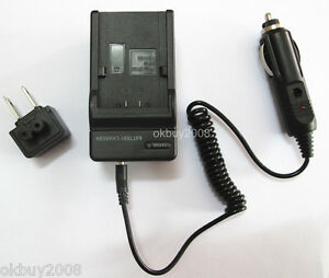 NB-4L Battery Charger for Canon PowerShot SD600 SD630 SD750 Digital Elph Camera