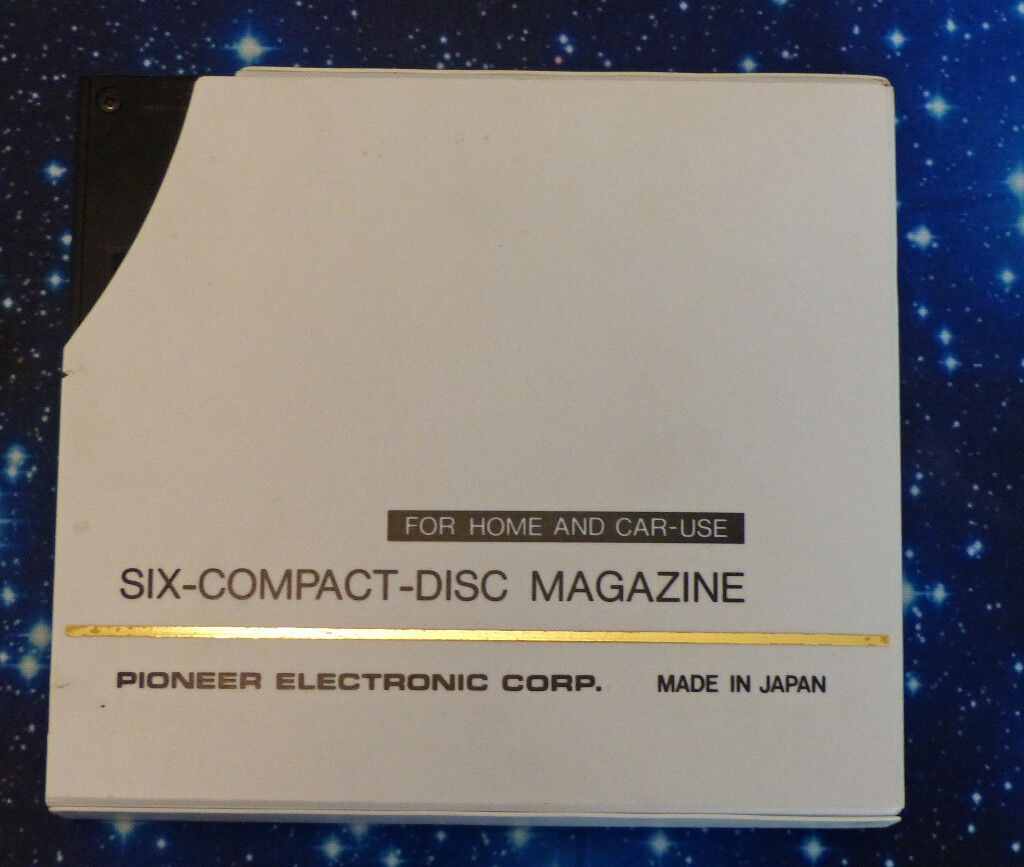 FOR SALE 26 PIONEER PRW 1023 SIX-COMPACT-DISC MAGAZINES.