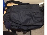 Black GAP Messenger bag, brand new with labels. Never used. Great Xmas present! £30