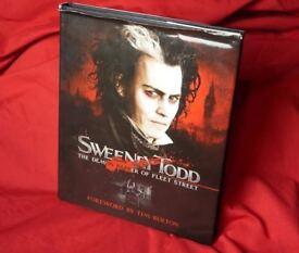 Sweeney Todd: The Demon Barber of Fleet Street - Hardcover book (behind the scenes)