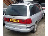 2002 VW Sharan Sport 1.9 TDI Diesel, Alloys, Spares or Repairs. Cornwall. Non Runner