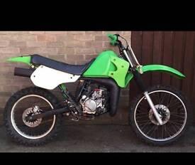 Kmx125 off-road bike