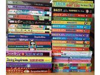Childrens books - Jacqueline Wilson, Alex Rider, Kes Gray