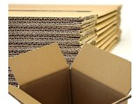 15 LARGE Cardboard House Moving Boxes Removal Packing Box 20x13.5x12.5 Inches