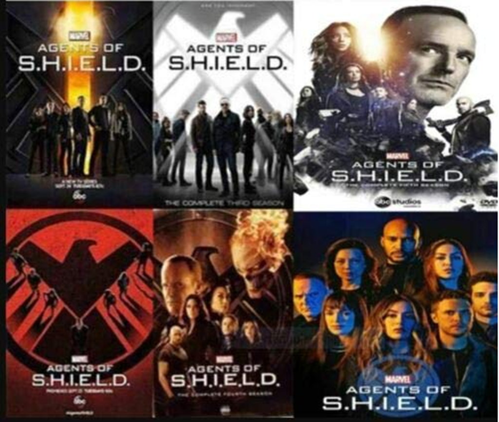 Marvel Agents Of SHIELD S.H.I.E.L.D. Seasons 1-6,29-Dics DVD Box Set - $64.51
