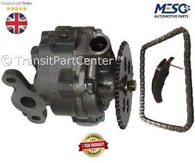 O.E. OIL PUMP & CHAIN & TENSIONER KIT FORD TRANSIT MK7 2006-2014 2.2 2.4 FWD RW