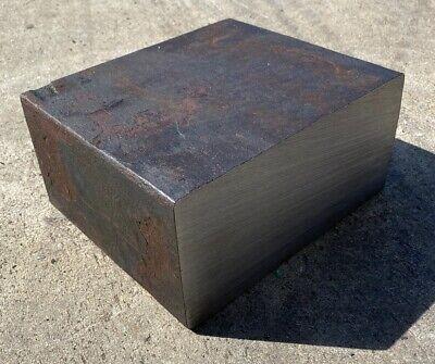 3 78 Thickness 4130 Steel Flat Bar - 3.875 X 8.125 X 7 Length