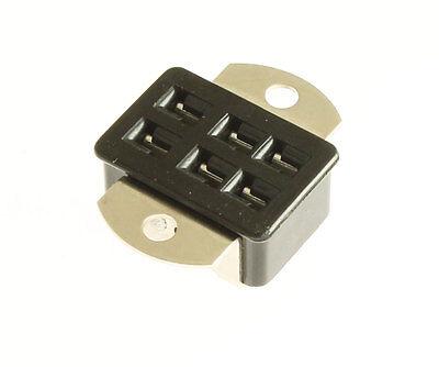 2x Beau Cinch S306ab Jones 6 Pin Socket Connector Panel Mount Angle Bracket