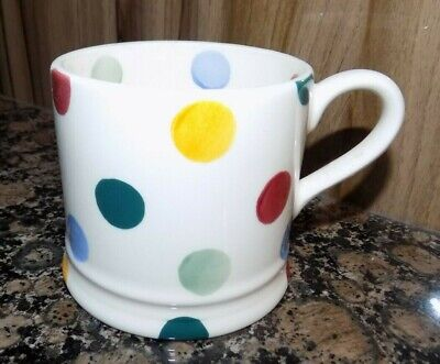 EMMA BRIDGEWATER  POLKA DOT SMALL MUG   , 1ST QUALITY  - Dots Ipod