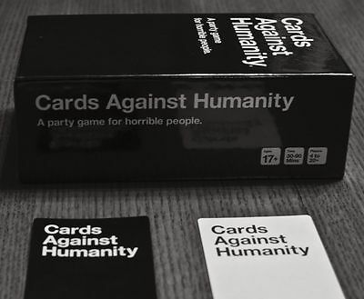 Cards Against Humanity 550 Card Full Base Set Pack Party Game New