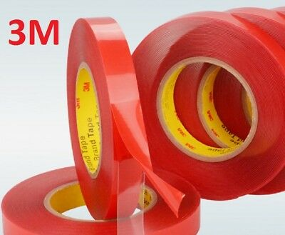 ***33 FEET*** 3M VHB 4905 Double Sided Mounting Tape Transparent Clear Car Auto ()