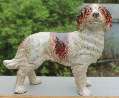 New Cast Iron Spaniel Dog Figurine Doorstop Springer Brittany Door Stop