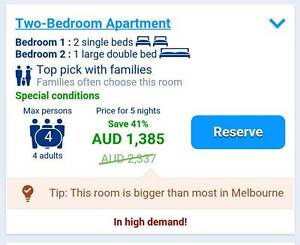 Inner Melbourne Serviced Apartment Alexandra Murrindindi Area Preview