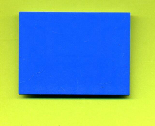 Lego--4515--Schrägstein---Dachstein--6 x 8  10°-- Blau--Train-Star Wars-